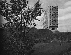 Unité d'Habitation (1952). Marseille, Le Corbusier.