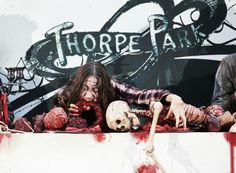 Thorpe Park - Any Day Ticket in October 2018 includes Fright Nights: End Date: Saturday BST Buy It Now for… Real Ghost Stories, Creepy Stories, Haunted Objects, Zombie Vampire, Thorpe Park, Horror Themes, Creepy Facts, Spooky House, Ghost Pictures