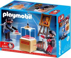 Playmobil Police, Hotii de bijuterii -