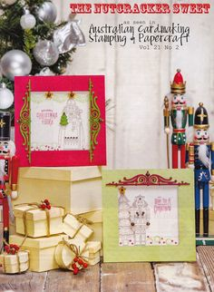 Stamps Paper Happiness: In Review: Stamping on Calico--The Nutcracker Sweet