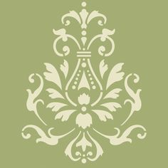 Sicilia Tile Craft Stencil Wall stenciling Stenciling and Royals
