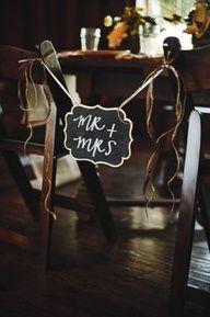 Rustic Elegance #Wedding Mr. + Mrs. Sign