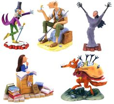 Roald Dahl cake toppers!!!!