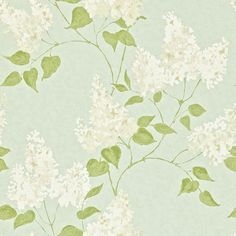 Sanderson Home Wallpaper Maycott Lilacs Collection DMAY211983
