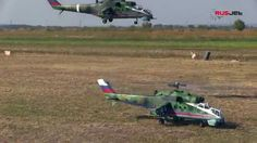 Two Mil Mi-24 destoyed imaginary enemy at RusJet Masters 2014