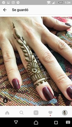 Small Henna Designs, Mehndi Designs For Beginners, Best Mehndi Designs, Beautiful Henna Designs, Henna Mehndi, Arte Mehndi, Henna Ink, Mehendi, Hena Tattoo