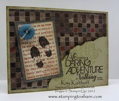 by Kay Kalthoff, Stamping to Share