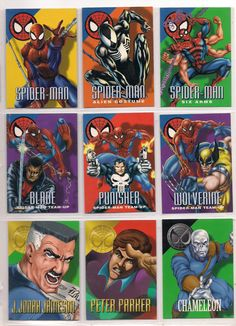 1996 #marvel #vision card set w/ encryptalizer, #mini-mags nm masterpieces ,  View more on the LINK: 	http://www.zeppy.io/product/gb/2/322266246492/