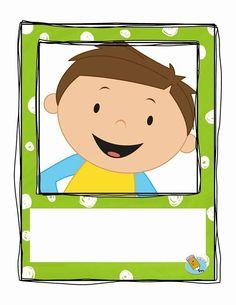 Avatar Preschool Classroom, Kindergarten Activities, Clown Crafts, School Border, Name Crafts, Eid Cards, Kids Background, School Labels, School Frame