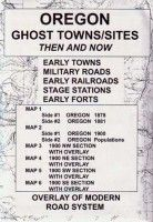Oregon Ghost Towns/Sites: Then and Now - Northwest Distributors, Inc - Historical Maps Online State Of Oregon, Oregon Trail, Visit Oregon, Wish I Was There, Place Names, Historical Maps, Library Of Congress, Ghost Towns, Then And Now
