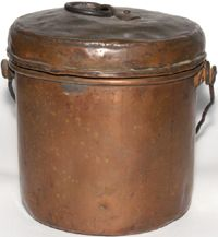 Hudson's Bay Company Copper Kettles - Trade kettles - Copper Pots