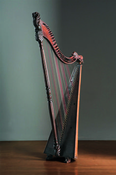 Welsh Triple Harp, Wales - Museo dell'arpa Victor Salvi