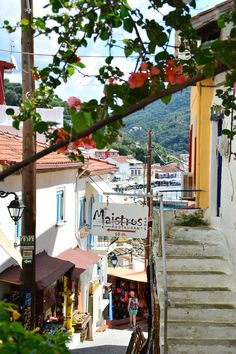 Parga, Greece - I've walked down here September 2015