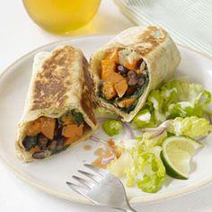 Sweet Potato and Black Bean Burritos - GoodHousekeeping.com