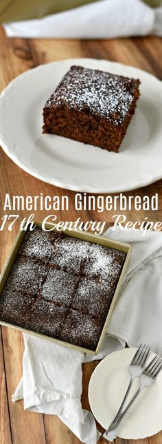 This easy to make historical century gingerbread cake recipe is flavorful dense and moist and still as perfect today as it was back then.Old Recipe Colonial Recipe Historical Recipe Old Fashioned Cake New Year's Desserts, Cute Desserts, Party Desserts, Christmas Desserts, Christmas Crack, Christmas Recipes, Merry Christmas, Old Recipes, Vintage Recipes