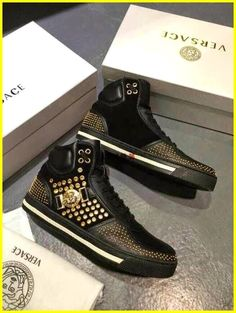 detailed look 1f605 118b3 Sneaker Brands, Versace Shoes, Versace Men, Versace Fashion, Versace Sneakers  Men,