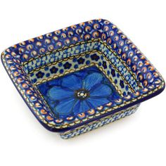 Polish Pottery 5-inch Bowl | Boleslawiec Stoneware | Polmedia H5106G | Polmedia