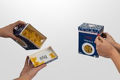 Concept pasta packaging on Behance