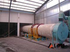 Φ1.5*15m Printing&dyeing Sludge Dryer,initial moisture content:70%,Moisture content after drying:20-30%
