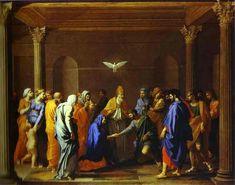 La boda de la Virgen, 1640 - Nicolas Poussin