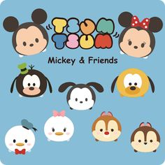Krafty Nook: Tsum Tsum - Mickey and Friends Fan Art Free freebees gratis download SVG file and or scut file scrapbook paperpierciering