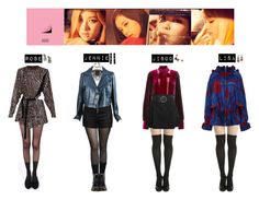 BLACK PINK - PLAYING WITH FIRE♡ by vvvan99 on Polyvore featuring polyvore fashion style STELLA McCARTNEY Chanel Anna Sui Pretty Polly Alexander McQueen Love Moschino Giambattista Valli Dr. Martens Proenza Schouler DANNIJO REMINISCENCE Marni Raina clothing