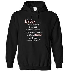 [Tees4u] Im in love with a chef T Shirt, Hoodie, Sweatshirt