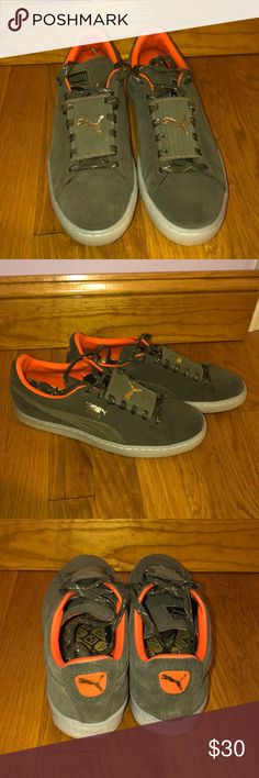 a0a6fe99c56 Mens puma shoes Olive green men s Puma shoes. Never worn before. Shoes on  the