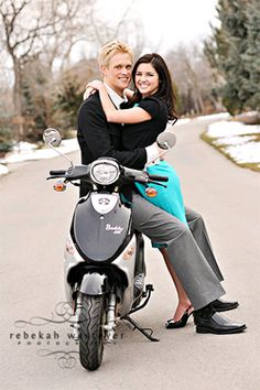 How much would Cody love it if we took our engagement/wedding photos with his moto? Bahaha.