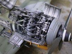 Focke-Wulf 190F-8 by David Anderson (Tamiya 1/48) Beautifully done!The engne is a BMW 14 cylinders radial.
