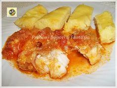 Baccala in umido con polenta  Blog Profumi Sapori & Fantasia