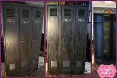 After-Metal School lockers get a new purpose..hiding coats, boots, gloves, bookbags, homework and so much more.