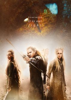 Elves of Mirkwood Hobbit Art, The Hobbit, Fellowship Of The Ring, Lord Of The Rings, Middle Earth Books, Lee Pace Thranduil, Legolas And Thranduil, Misty Eyes, Concerning Hobbits