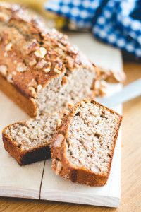 Homemade Banana Bread With Chia Seeds & Walnuts