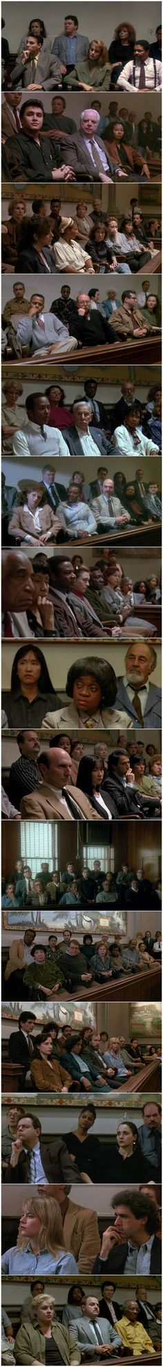 THE CONTEMPLATIVE JURIES OF LAW & ORDER, SEASON 1