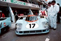 1971 .. Le Mans .. Entered by J.W.Auto engineering , driven by Siffert / Bell , DNF>split crankcase .