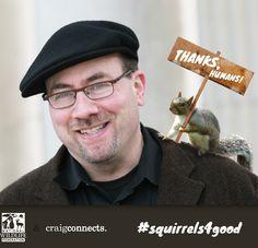 #squirrels4good