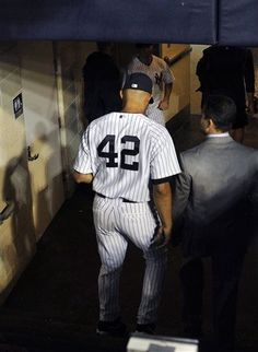 Mo walks into the tunnel for the last time on Thursday