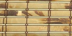 How to Make Bamboo Window Blinds.