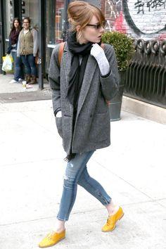 Emma Stone - Celebrity Casual Style