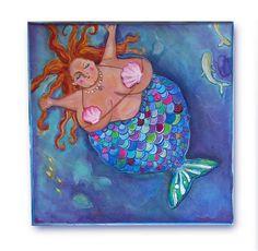 aww a chubby mermaid~how cute!