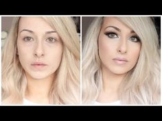 Drugstore Beginners flawless Foundation routine ♡ Colour match, application - YouTube