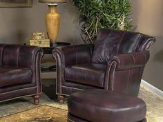 Richardson Bradington Young Leather Recliner