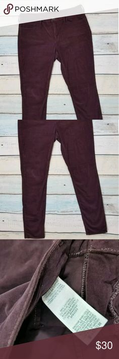True Religion Halle Purple Velour Corduroy Jeans Up for consideration,True Religion Sz 32 Halle Purple Velour Corduroy Skinny Pants Jeans in great condition with no stains, no rips and no tears. PRELOVED AND CLEAN! Super soft Purple Halle skinny pants by True Religion. Very trendyTrue Religion Halle Purple Velour Corduroy Skinny Pants Jeans in a size 32.Measurements are taken flat Waist 17 inches Hips 19.75 inches Inseam 29 inches True Religion Jeans Skinny