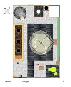 I did the plans and elevations. Outdoor Rooms, How To Plan, Outdoor Spaces