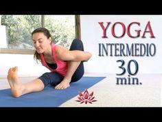 Yoga para bajar de peso nivel INTERMEDIO | Clase 5 - YouTube