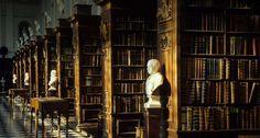 Wren Library, Trinity College, Cambridge University, Cambridge, UK