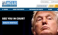 ACLU Raises Record $7.2 Million In Wake Of Donald Trump's Election | The Huffington Post