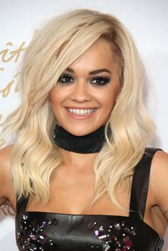 Rita Ora rocked a hella smokey eye last night. Our favourite liner for smoking up your look has to be Rimmel Scandaleyes Waterproof Khol Kajal Eye Liner, £3.99. Smudge this all around your lash line and finish with Tanya Burr Girls Night Out False Eye Lashes, £5.49. -Sugarscape.com