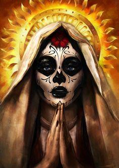 Dia De Los Muertos Madonna